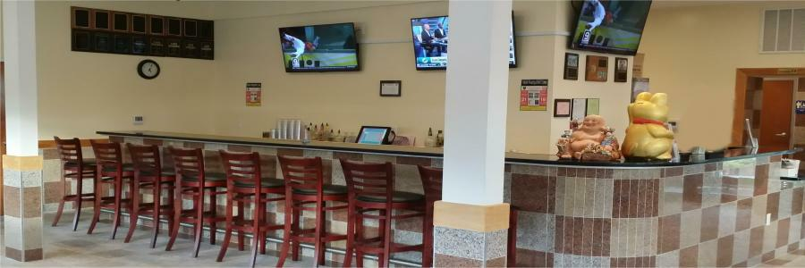 We have a Full Bar and Wide Screen TVs for Watching Games